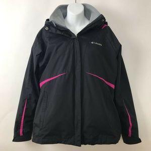Columbia Sportswear Interchange Jacket Hooded Sz M